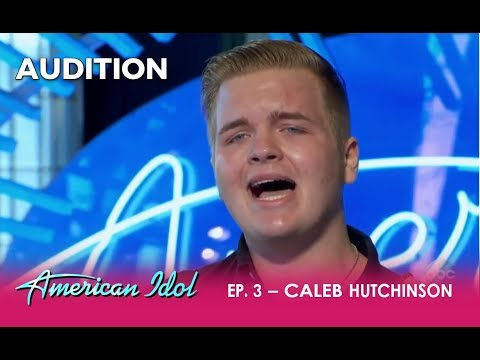 Caleb Hutchinson: An 18-year-old Country Singer With MIND BLOWING Voice! | American Idol 2018