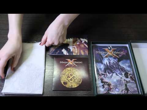 PlayWagen — распаковка Might And Magic X: Legacy + розыгрыш