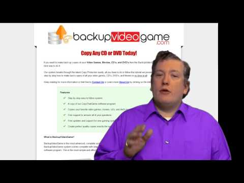 Make Backup Copies of Video Games, Movies, DVD's, and CD's SOFTWARE & GUIDE