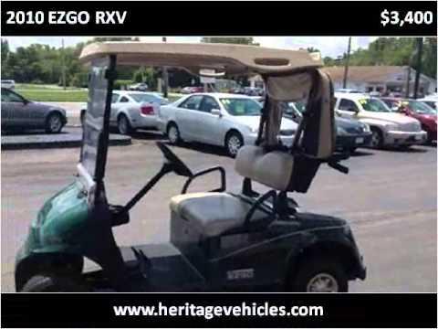 2010 Ezgo Rxv Used Cars Farmington Palmyra Canandaigua