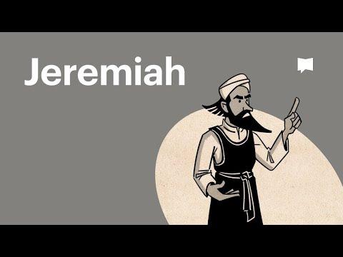Read Scripture: Jeremiah