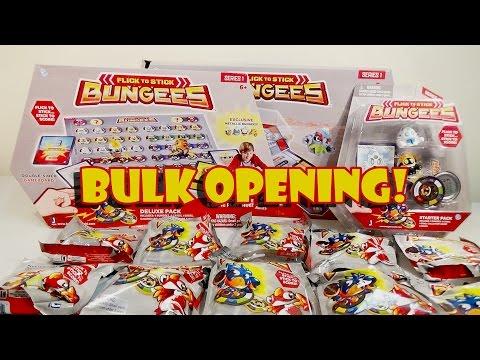 Huge Bungees Opening! Blind Bags Starter Pack Deluxe  Pack + More! | Birdew Reviews