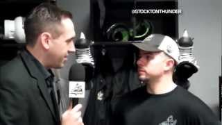GAME DAY: Matt Thomas morning skate interview vs. San Francisco (2-16-13)