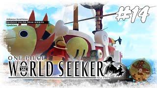Lets Play One Piece World Seeker #14 / Auf der Tausend Sunny / Gameplay (PS4 Deutsch German)