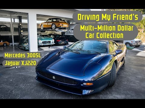 Driving My Friend's Multi-Million Dollar Car Collection In Beverly Hills!!