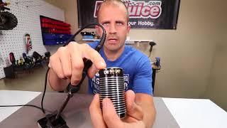 Cool trick for rem๐ving excess solder off of components.