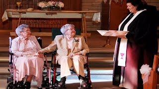 U.S Lesbian couple age 90