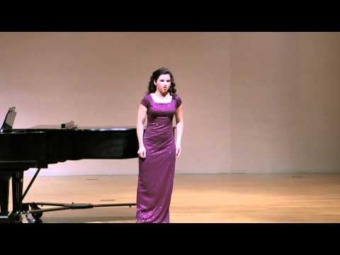 Jacquelyn Weitz sings Queen of the Night - Der Hölle Rache from Die Zauberflöte