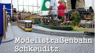 Modellstraßenbahnausstellung - 105 Jahre Straßenbahn Schkeuditz |Modellbahnwelt TV