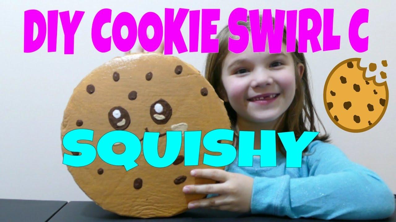 Cookie Swirl C DIY Squishy! - YouTube