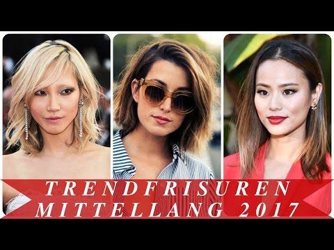 Trendfrisuren mittellang 2017