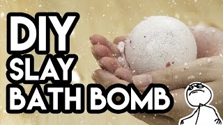 DIY Hex Bomb's Slay Bath Bomb - Do It Like a Boss...