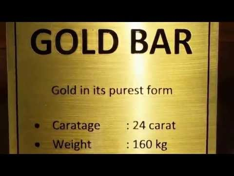 160 Kilo weight of gold bar