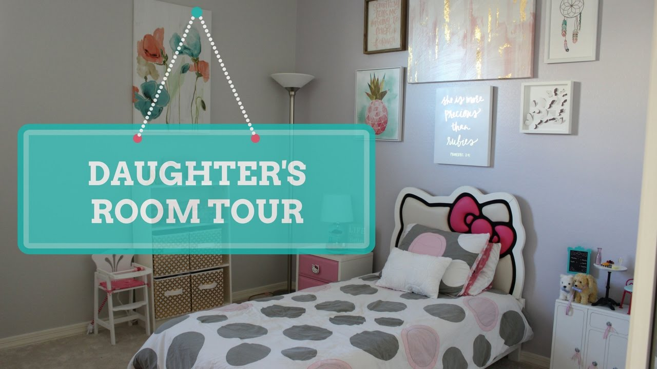 Girl S Room Tour My 7 Year Old Daughter S Room Bedroom Ideas