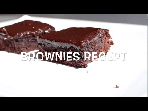 kladdig brownie recept