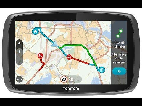 Обновление автомобильного навигатора TomTom Go 51