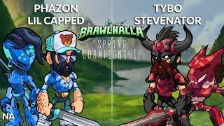 Phazon & Lil Capped vs Tybo & Stevenator - NA 2v2 Top 8 - Spring Championship