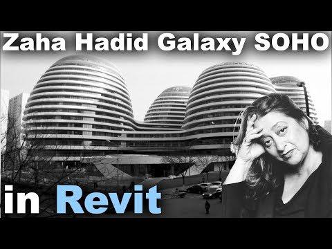 Zaha Hadid Galaxy SOHO in Revit Tutorial