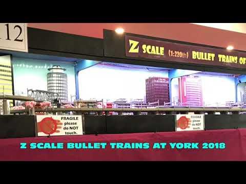 Winning layout at York 2018 UK Z gauge Bullet Trains