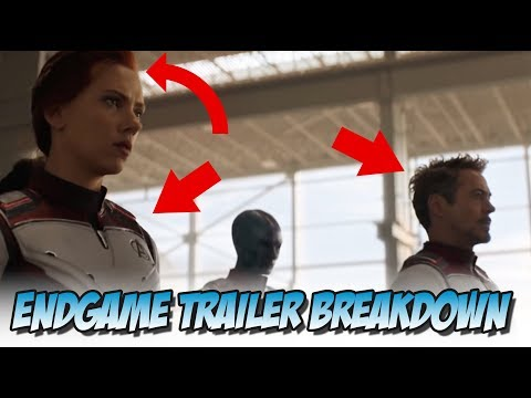 Avengers: Endgame - Trailer #2 Breakdown (Shot by Shot)