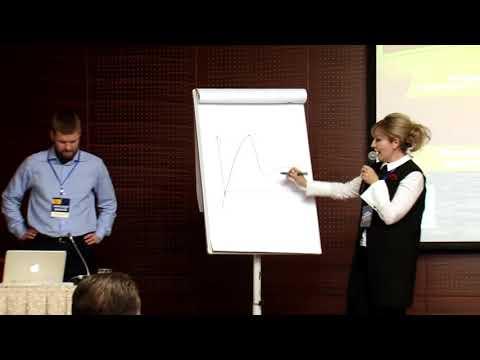Челябинск Элина Сидоренко на Биткоин конференции