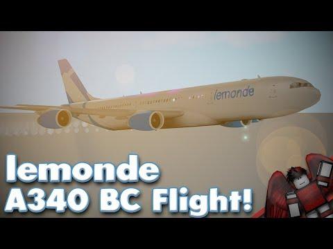 LeMonde A340 Business Class Flight! | Roblox