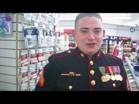 Stolen Valor Fake Marine Shopping 2016 #3