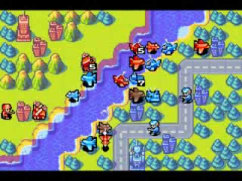 Advanced Wars Gameplay