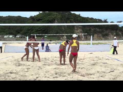 2014JVAビーチバレーボール・オープン高萩大会 女子決勝