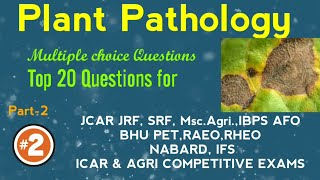 ICAR JRF Plant Science 2018(Genetics & Plant Breeding) MCQs