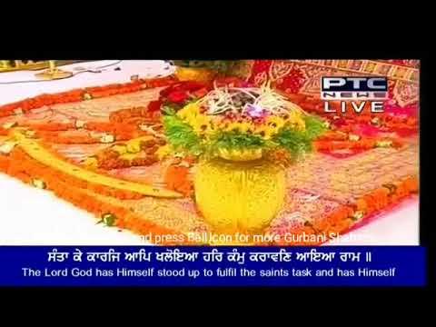 Santa Ke Karaj Aap Khaloya | Bhai Maninder Singh Ji | Hazoori Ragi Darbar Sahib | 02 July 2018