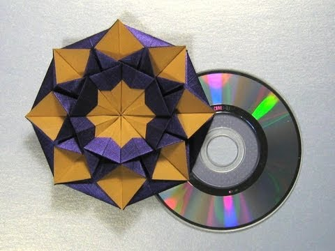 "Origami Instructions: CD/DVD Case ""Star Helena"" by Carmen Sprung"