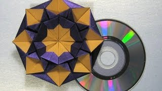 Origami Instructions: CD/DVD Case