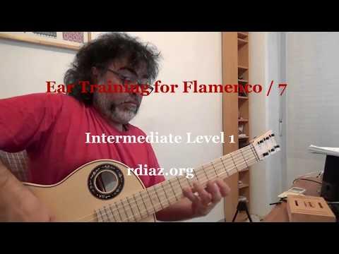 Ear training (7 Locrian mode) in modern flamenco /Learn Paco de Lucia´s Style/Ruben Diaz