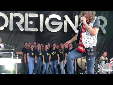 Crystal - WATCH:  Greenfield Central HS Madrigal Choir Joins Foreigner On Stage