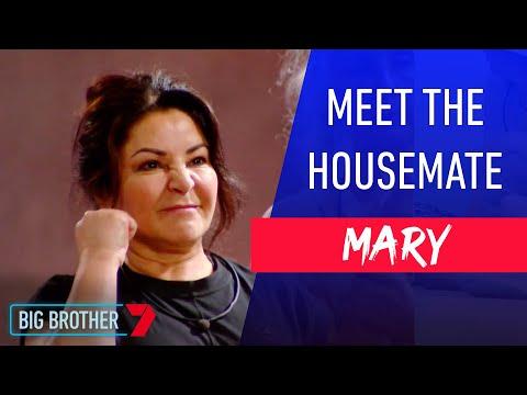 Power Mum Mary | Meet The Housemate | Big Brother Australia