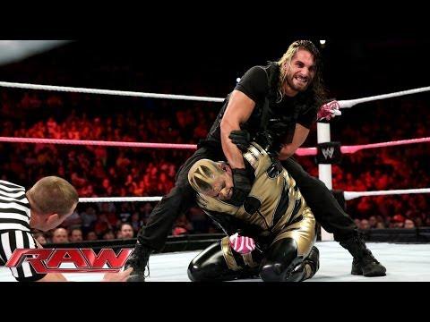 Cody Rhodes & Goldust vs. Seth Rollins & Roman Reigns - WWE Tag Team Title Match: Raw, Oct. 14, 2013