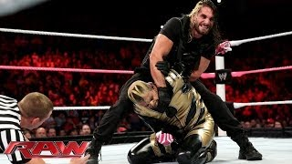 Cody Rhodes & Goldust vs. Seth Rollins & Roman Reigns - WWE Tag Team Title Match: Raw, Oct. 14, 2013