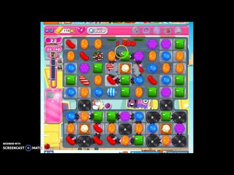 Candy Crush Level 2370 help w/audio tips, hints, tricks