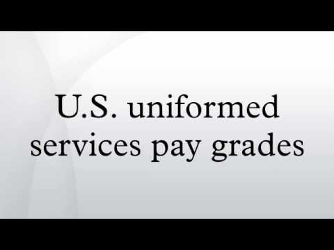 U.S. uniformed services pay grades