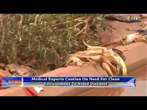 Medical experts caution on need for clean environment to avoid diseases