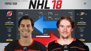 NHL 18 - HENRIQUE FOR VATANEN TRADE SIMULATION