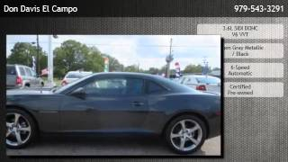 2013 Chevrolet Camaro Coupe 2lt  - Houston