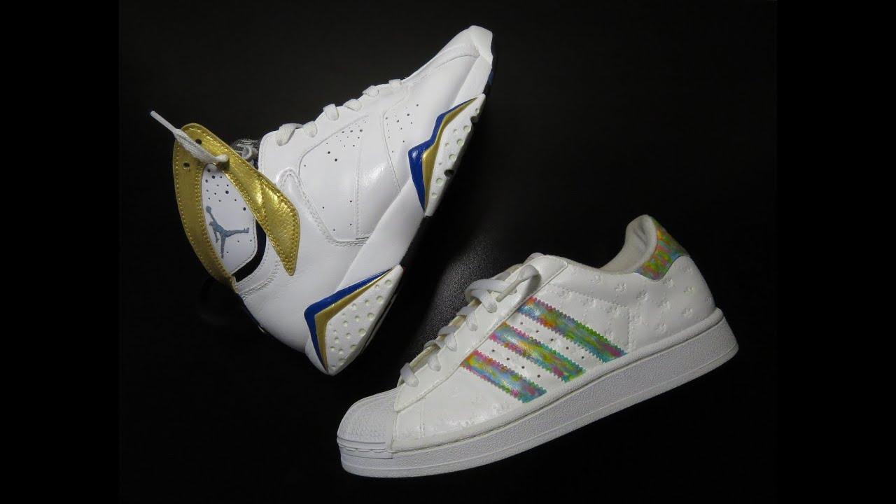 Restauración de la Air Jordan 7 y Adidas Superstar YouTube