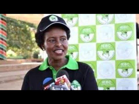 DECLARATION OF PRESIDENT-ELECT: IEBC Deputy Chairperson Nkatha Maina's speech