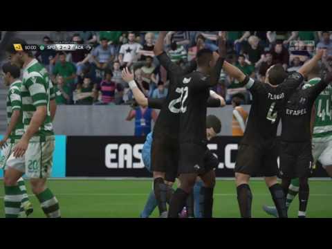 João Gomes (Goalkeeper) last minute goal - Académica de Coimbra Career Mode FIFA16