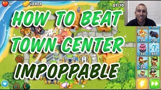 How to Beat Town Center Impoppable - Bloons TD 6
