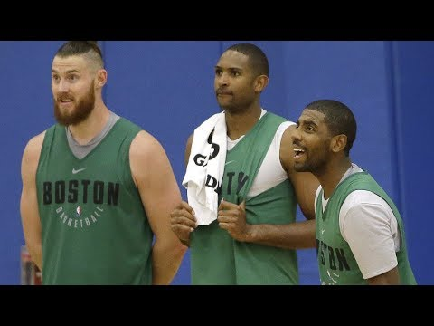 Kyrie Irving talks about his first time on the court in TD Garden | ESPN