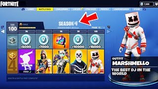 *NEW* SEASON 4 *CONFIRMED* TIER 100 Skin SHOWCASE in Fortnite Battle Royale - Season 4 INFORMATION