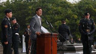 Trudeau commemorates 75th anniversary of Dieppe raid